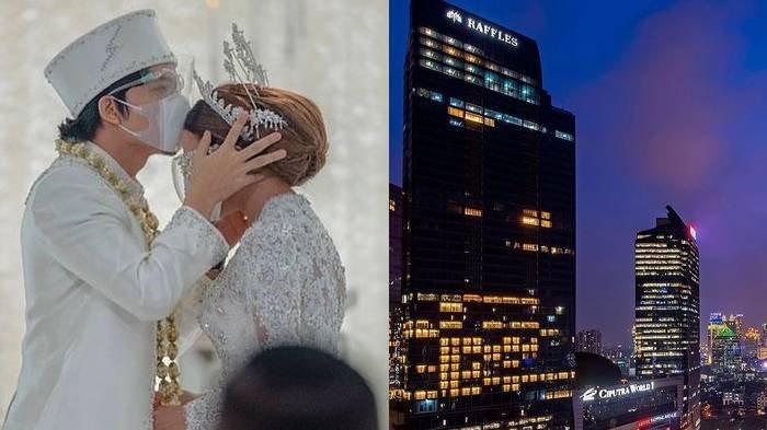 Kemegahan Hotel Raffles Jakarta, Lokasi Pernikahan Atta dan Aurel, Tarif Kamar Ada yang Rp 180 Juta