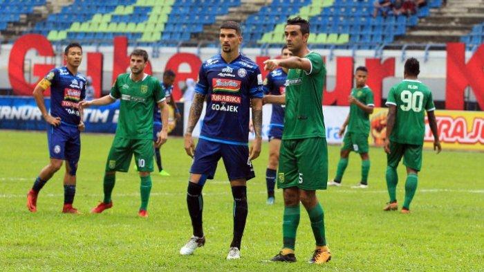 Arema FC Vs Persebaya, Lupakan Insiden Ditendang Amido Balde, Arthur Cunha Minta Wasit Lebih Teliti