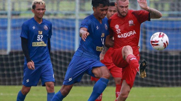 Arema FC Batal Beruji Coba dengan Persipura Jayapura