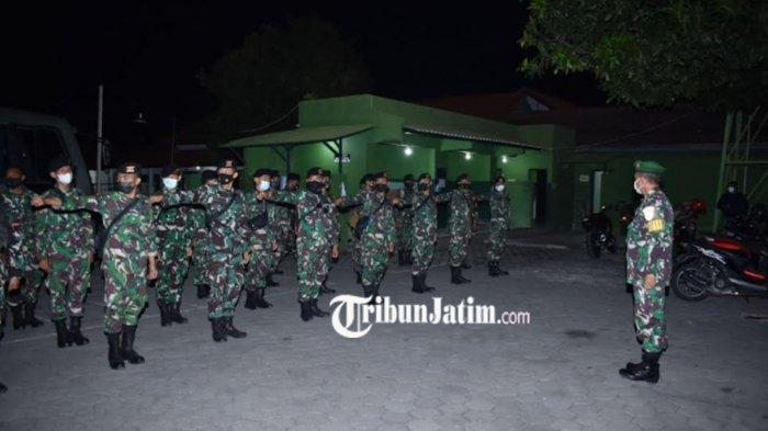 TNI AD Terjunkan Personil Yonkav 3 Malang, Bantu Penanganan Covid-19 di Banyuwangi