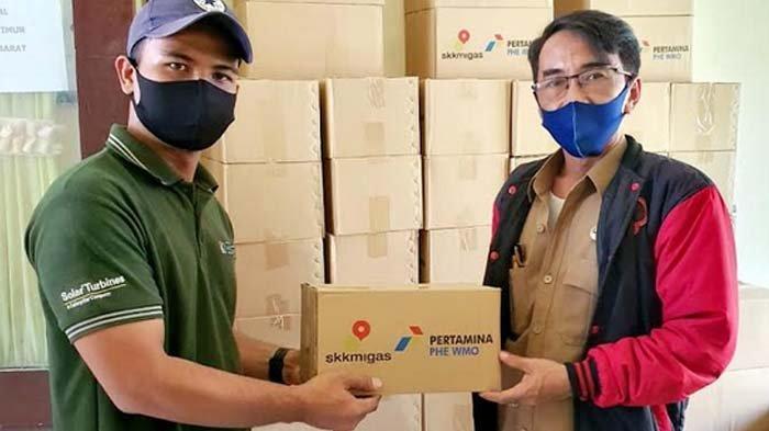 Pertamina SHU Regional 4 WMO Bagikan Ribuan Paket Sembako kepada Masyarakat Pesisir Jawa Timur