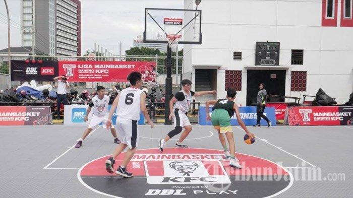 Di MAINBASKET Bareng KFC Surabaya Pengunjung Boleh Ikut Kompetisi Basket One on One, Ada Hadiahnya!