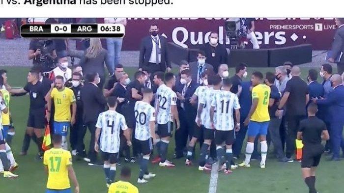 Dua Jam Sebelum Laga Brasil Vs Argentina, Hotel Lionel Messi dkk Ternyata Sempat Digerebek Polisi