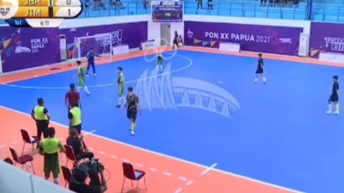 Viral Pertandingan Futsal Jatim vs Jabar di PON Papua, PSSI Jatim: Jangan Membuat Drama