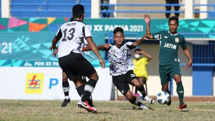 Kemenangan Tim Sepak Bola Jatim atas Kaltim dengan Skor 5-1 Diwarnai Pinalti dan Gol Bunuh Diri