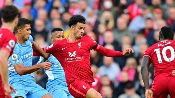 Hasil Liverpool Vs Manchester City - The Reds dan The Citizens Harus Puas Berbagi Poin