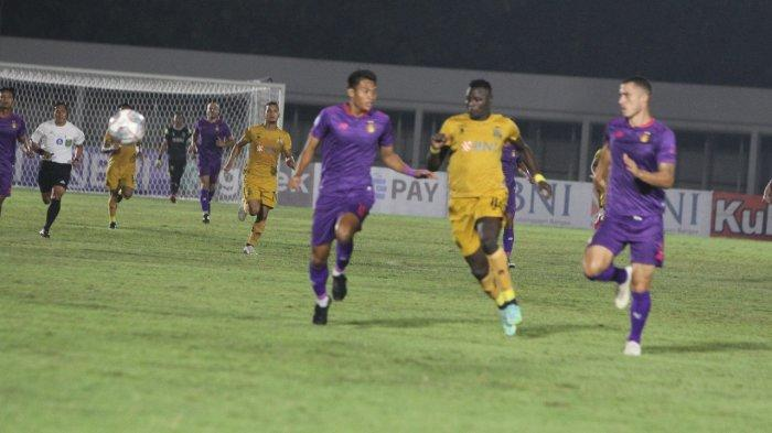 Hasil Persik Kediri Vs Bhayangkara FC, Skuat Macan Putih Takluk 2-0 dari The Guardian