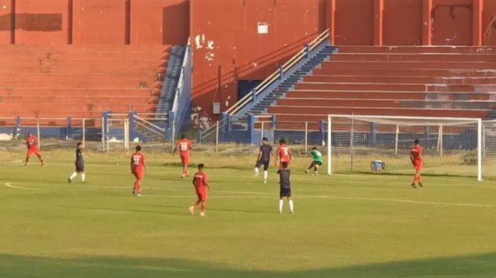 Hasil Babak Pertama Uji Coba Persik Kediri vs Persipura Jayapura, Macan Putih Unggul 1-0