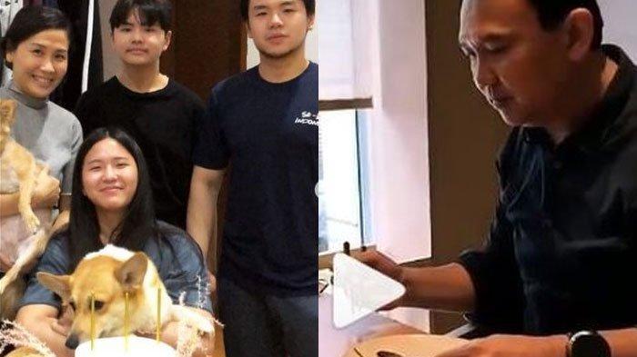 Pertemuan Ahok dan ketiga anak Veronica Tan tampak dingin