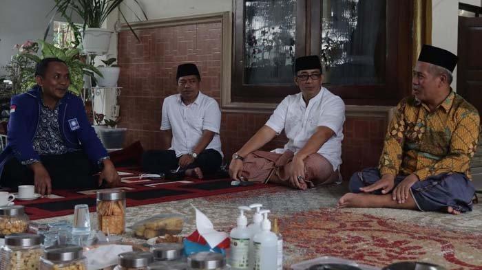 DPW PAN Jatim Sowan ke Ketua PWNU, KH Marzuki Mustamar Sampaikan Pesan Khusus