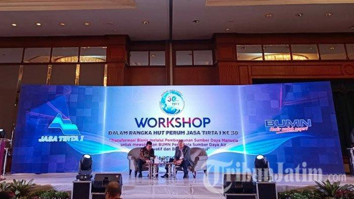 Jelang Ulang Tahun ke-30, Perum Jasa Tirta I Gelar Workshop Transformasi Bisnis di Hotel JW Marriot
