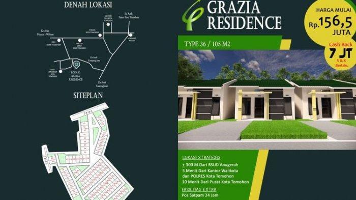 Perumahan Grazia Residence di Sulawesi Utara