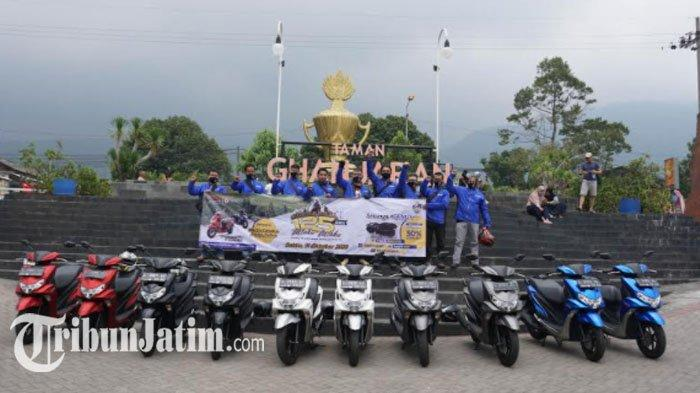 Gelaran Fun Touring Generasi 125 Jadi Ajang Silaturahmi Antar Wartawan Otomotif dan Blogger Surabaya