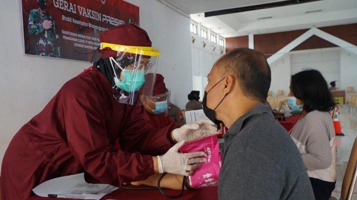Buka Layanan Vaksin di Gedung Graha Patria Kota Blitar, Targetkan 300 Dosis Setiap Hari