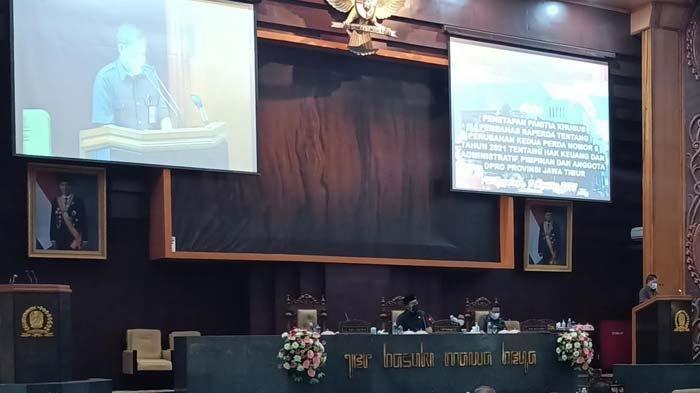 Ketua Fraksi Demokrat Jatim Sri Subiati Berpulang, DPRD Mengheningkan Cipta Saat Rapat Paripurna