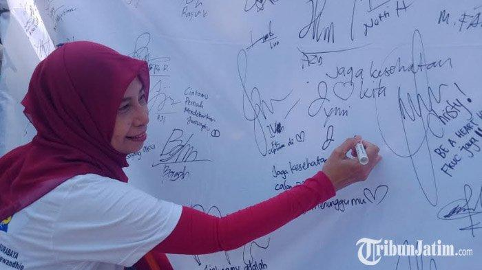 Gelar Acara Be A Heart Hero di Taman Bungkul, Pemkot Surabaya Ingin Edukasi Soal Kesehatan Jantung