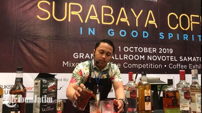 Hari Kopi Sedunia, Novotel Samator Surabaya Adakan Kompetisi Meracik Kopi Pertama di Jawa Timur