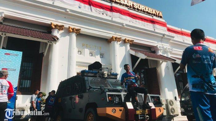 Surabaya Run HUT Bhayangkara ke-73, Lari Sehat Sambil Mengenal Sejarah Polrestabes Surabaya