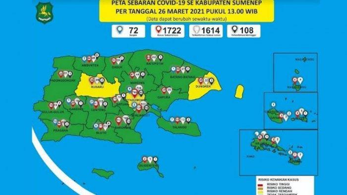 Tak Ada Lagi Pasien Positif Covid-19 di RSUD dr H Moh Anwar, 24 Kecamatan di Sumenep Zona Hijau