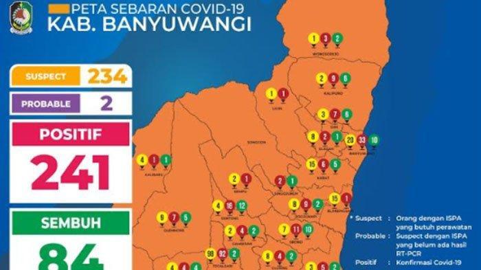 UPDATE CORONA di Banyuwangi, Jumlah Santri Ponpes Blokagung yang Positif Covid-19 Menjadi 110 Orang