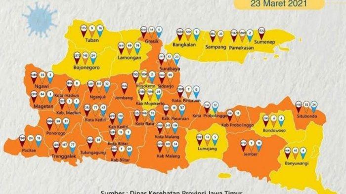 Kabupaten Tuban Kini Zona Kuning Covid-19, Satgas Wanti-wanti: Tetap Patuhi Protokol Kesehatan