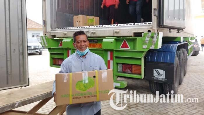 Petani di Kota Batu Lakukan Ekspor Sayuran Perdana ke Taiwan, Ada Puluhan Ton yang Dikirim