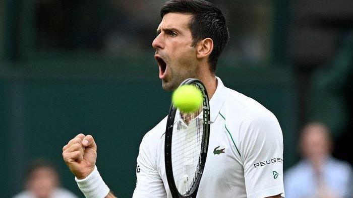 Juara Wimbledon 2021, Novak Djokovic Samai Rekor Rafael Nadal dan Roger Federer