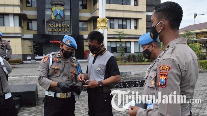 Propam Polda Jatim Periksa Anggota Polresta Sidoarjo, Mulai Kelengkapan Atribut Hingga Senjata