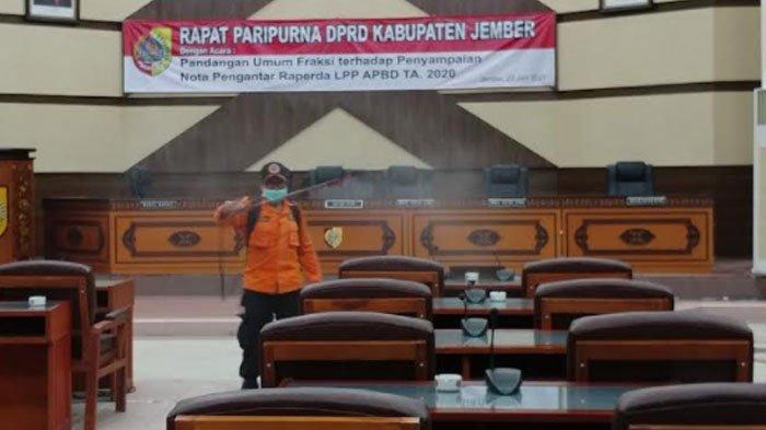 Ketua Komisi C DPRD Jember Terpapar Covid-19, Pembahasan LPP APBD Dijadwal Ulang