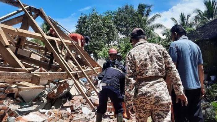 Bantuan Rekonstruksi Rumah Korban Gempa Lumajang Belum Jelas, Warga Pilih Membangun Secara Mandiri