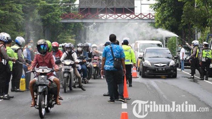 BREAKING NEWS - Pemkot Surabaya Rencanakan Karantina Wilayah, Kadishub: Barrier Hari Ini Tuntas