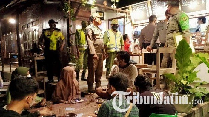 Malam Tahun Baru, Jam Buka Warung, Angkringan dan Kafe Kota Kediri Dibatasi Sampai Pukul 20.00 WIB