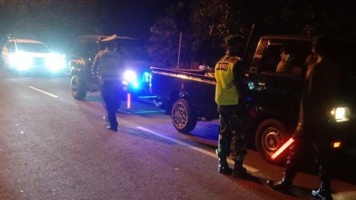Cegah Pemudik, Jalur Tikus di Perbatasan Lamongan Dijaga Ketat Petugas Selama 24 Jam: 'Siaga Penuh'