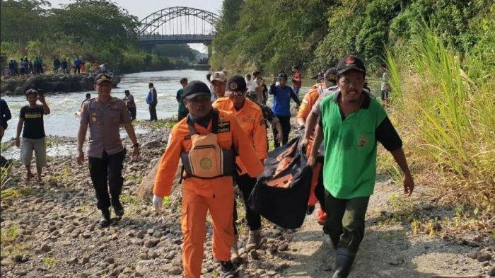 Jasad Edi Wahyudi asal Ponorogo yang Tenggelam di Sungai Brantas Akhirnya Ditemukan