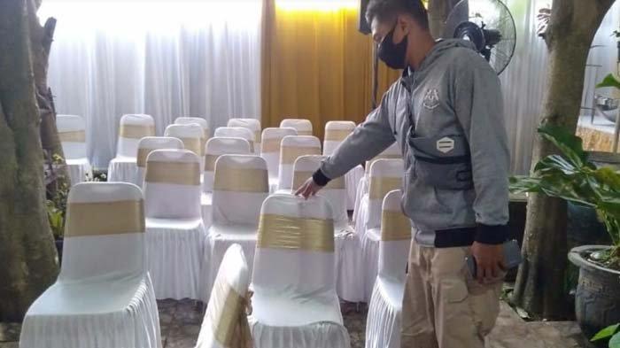 Digelar Saat PPKM Mikro, Dua Acara Resepsi Pernikahan di Kota Kediri Dipantau Ketat Satgas Covid-19