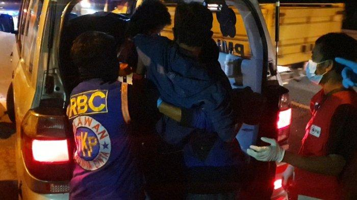 Kecelakaan Bus EKA Cepat Vs Motor Ojol di Bypass Mojokerto 1 Penumpang Wanita Sidoarjo Tewas