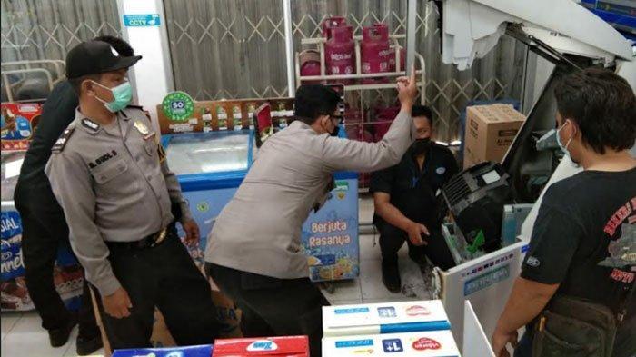 Gagal Bobol Mesin ATM, Kawanan Pencuri Pilih Gasak Rokok di Minimarket Gedeg Mojokerto