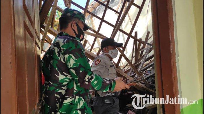 Atap SDN 1 Babadan Ponorogo Ambruk, Dinas Pendidikan Sudah Anggarkan Rp 380 Juta untuk Perbaikan