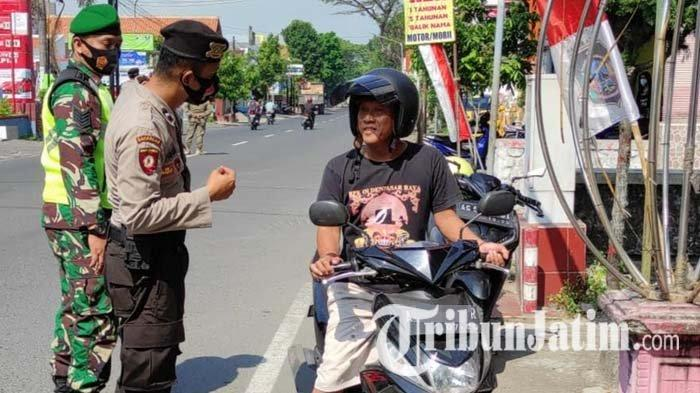Tak Pakai Masker, Belasan Pelanggar Prokes Covid-19 di Kota Blitar Disanksi Tipiring