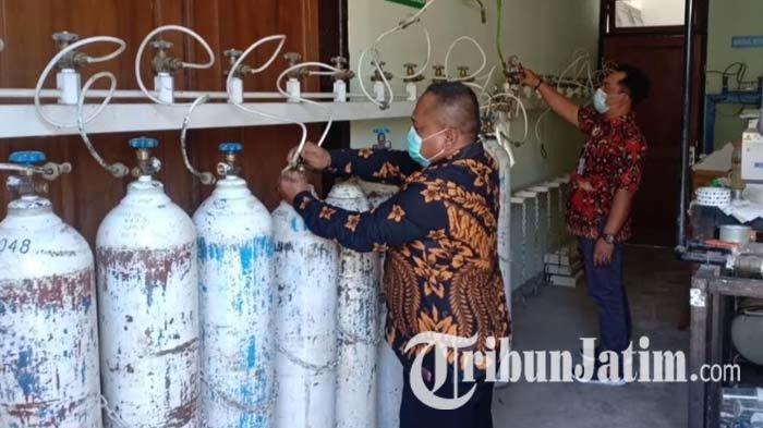 Konsumsi Oksigen Medis di RSUD Kota Madiun Naik 30 Persen dalam Sepekan Terakhir