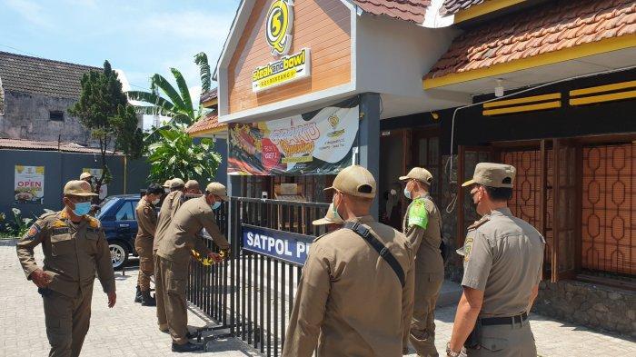 Alasan Satpol PP Cabut Segel Rumah Makan Steak di Jalan Majapahit Kota Mojokerto