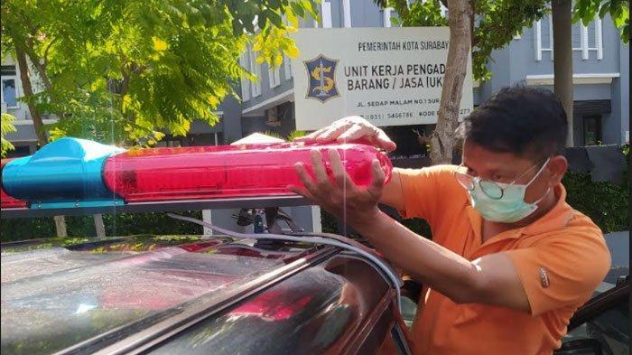 Pemkot Surabaya 'Sulap' Puluhan Kendaraan Dinas Jadi Mobil Jenazah