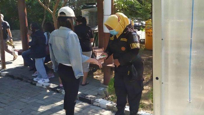 Tim Swab Hunter Bersiaga di Tempat Wisata Surabaya, Jaring Pelanggar Protokol Kesehatan Covid-19