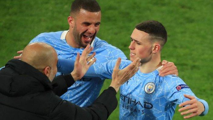 Hasil Manchester City vs PSG, The Citizens Tembus Final Liga Champions Untuk Pertama Kali