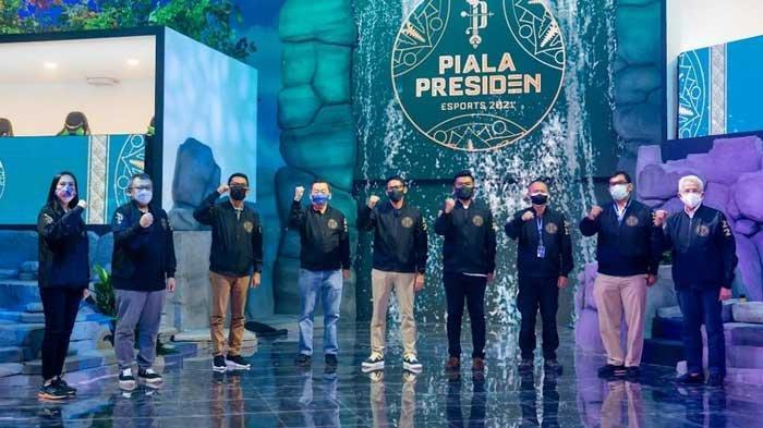 Usung Konsep Artistik 'Land of Wonders,' Piala Presiden Esports 2021 Resmi Digelar