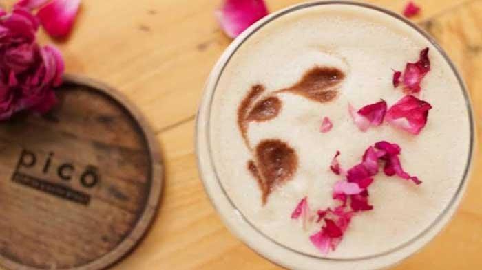 Incip Coffee Mocktail Beraroma Mawar di Pico Kopi Kediri, Cocok Buat yang Tak Suka Pahit