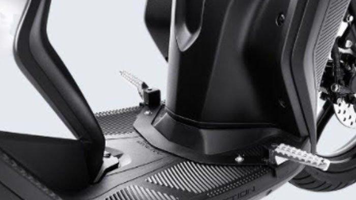 Pijakan kaki yang dimiliki Gear 125.