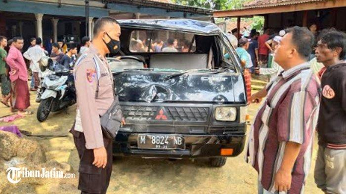 Kronologi Mobil Pick Up yang Terguling Angkut 17 Rombongan dari Sumenep, Hendak ke Ponpes Banyuanyar