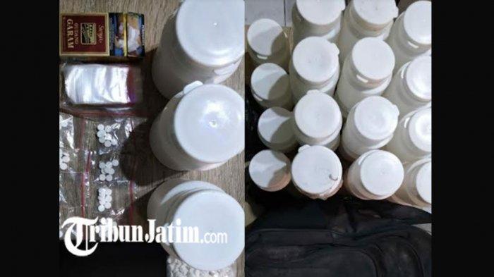 Pengedar Narkoba Jaringan Warung Kopi di Nganjuk Terbongkar, Polisi Amankan 3.142 Butir Pil Koplo