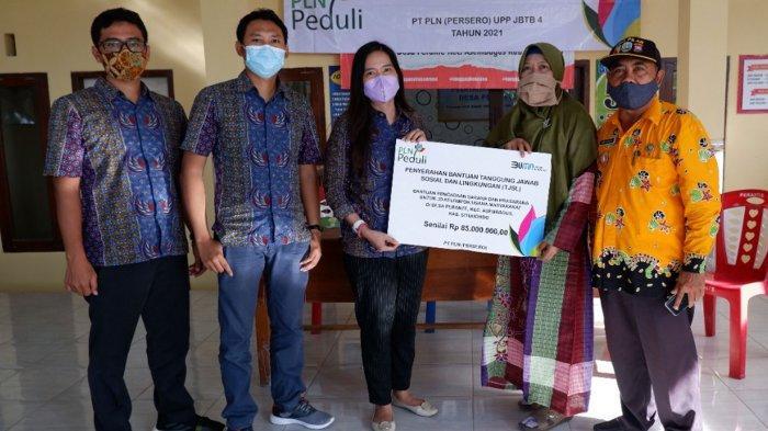 PLN Bantu 30 UKM Masyarakat Desa Perante, Jadi Motivasi Usaha di Tengah Pandemi Covid-19